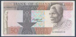 Ref. 2457-2880 - BIN GHANA . 1980. GHANA 50 CEDIS 1980 - Ghana