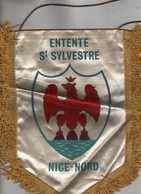 Flag,fanion Football, Entente St-Sylvestre Nice Nord .France - Size19cm/27cm. - Kleding, Souvenirs & Andere