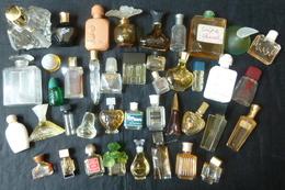 Lot De 40  Miniatures Anciennes Et Flacons - Réf, W1 - Parfum Miniaturen