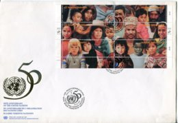United Nations Vienna Mi# 190-201 FDC - People Of The World - FDC