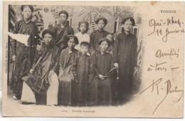 Indochine TONKIN  Famille Annamite - Viêt-Nam
