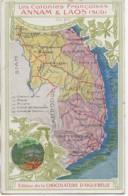 """Indochine  ANNAM & LAOS """"Les Colonies Françaises"""" - Viêt-Nam"""