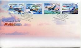Cocos Keeling Islands Mi# 524-7 FDC - Aviation Airplanes - Kokosinseln (Keeling Islands)