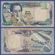 COLOMBIA 1000 Pesos 1995 SIMON BOLIVAR - Colombie