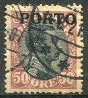 DANEMARK -  Y&T  N° 7 (o) - Port Dû (Taxe)