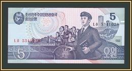 North Korea 5 Won 1998 P-40 (40b) UNC - Korea, Noord