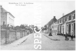 St-Jakobstraat  -  Middelburg - Repro - Maldegem