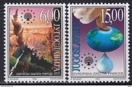 Yougoslavie YV 2768/9 MNH 1999 Sauvons La Planète - 1992-2003 République Fédérale De Yougoslavie