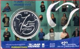 NEDERLAND - COINCARD 5 € 2020 UNC - 75 JAAR VRIJHEID - Netherlands