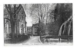 38  - CPA  De  RENAGE  -  La  Chapelle  De  La  Grande  Fabrique  En  1915 - Renage
