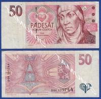 CZECH REPUBLIC 50 Korun 1997 - SV.ANEZKA CESKA - Czech Republic
