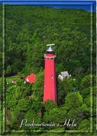 Poland:Hel Lighthouse Aerial View - Fari