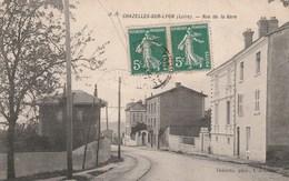 Chazelles Sur Lyon  Rue De La Gare - Other Municipalities