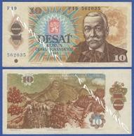 CZECHOSLOVAKIA CESKOSLOVENSKA 10 Korun 1986 PAVOL ORSZAGH HVIEZDOSLAV - Tschechoslowakei