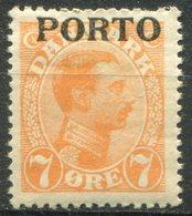 DANEMARK -  Y&T  N° 3 * - Port Dû (Taxe)