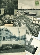 BELGIQUE - BELGIE - LOT DE 176 CARTES - VILLES ET VILLAGES - ANIMATIONS - Cartes Postales