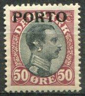 DANEMARK -  Y&T  N° 7 * - Port Dû (Taxe)