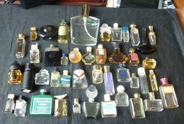 Lot De 40  Miniatures Anciennes Et Flacons - Réf, W 3 - Non Classés
