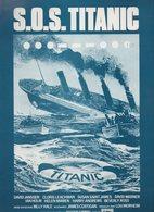 (cinéma) Affichette S.O.S.TITANIC  (CAT1760) - Manifesti
