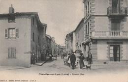 Chazelles Sur Lyon  Grande Rue - France