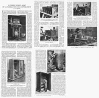 LA FABRICATION Des  COFFRES-FORTS Et LE BETON ARMé 1923 - Sciences & Technique