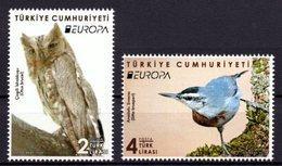 2019 TURKEY EUROPA NATIONAL BIRDS MNH ** - 1921-... Republic