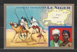 Publicité Des Produits Du Lion Noir - Les Colonies Françaises - Le NIGER - Thématique Dromadaire - Niger