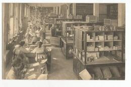 Bruxelles Union Economique En 1924 Préparation Des Commandes à Remettre à Domicile Carte Postale Ancienne Animée - Old Professions