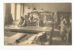 Bruxelles Union Economique En 1924 Confection Atelier De Coupe Carte Postale Ancienne Animée - Old Professions