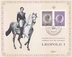 Feuillet 1349 1350 Roi Léopold Ier - Panes