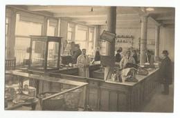Bruxelles Union Economique Comptoir Fromages Charcuterie Et Boucherie Carte Postale Ancienne Animée - Old Professions