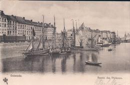 Oostende Ostende Bassin Des Pêcheurs ( Vissersboot Boot Bateau ) - Oostende