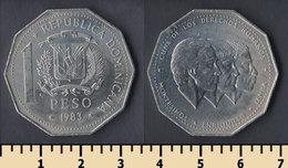Dominicana 1 Pesos 1983 - Dominicana