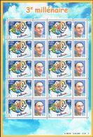 """FRANCE : N° 3365A ** En Feuille De 10 éditée Au Salon De NANCY 2001 (""""3ème Millénaire"""") - PRIX FIXE : 1/3 De La Cote - - Personalized Stamps"""
