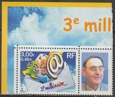 """FRANCE : N° 3365A **  édité Au Salon De NANCY 2001 (""""3ème Millénaire"""") - PRIX FIXE : 1/3 De La Cote - - Personalized Stamps"""