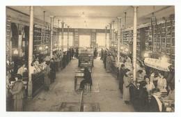 Bruxelles Union Economique Magasin D'épicerie Carte Postale Ancienne Animée - Old Professions