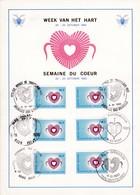 Feuillet 1992 Semaine Du Coeur - Panes