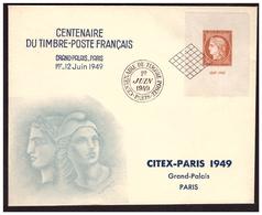CITEX  N° 841 Sur Document - Covers & Documents