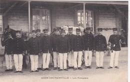 AGON COUTAINVILLE  POMPIER - Frankreich