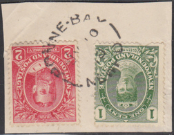 Newfoundland 1911 Used Sc #104, #105 Bonne Bay, Newf'd JY 10 18 - Newfoundland