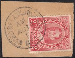 Newfoundland 1911 Used Sc #105 Sydney & Pt. Aux Basques Ry135 - Newfoundland