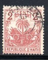 YT 34 OBLITERE - Haïti