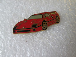 PIN'S   FERRARI  F 40 - Ferrari