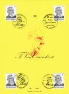 Feuillet Numéroté 1965 Frans Van Cauwehaert - Panes