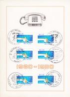 Feuillet 1969 Téléphone - Panes