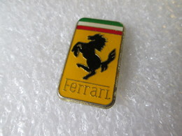 PIN'S   LOGO  FERRARI   27X16mm - Ferrari