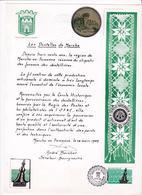 Feuillet 2315 Ville De Marche En Famenne Cachet à Sce Les Dentelles De Marche - Panes