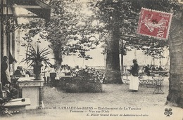 LAMALOU-les-BAINS - Établissement De La Vernière - Terrasses - Vue Sur L'Orb - Lamalou Les Bains