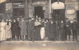 PARIS 10ème Carte Photo - 4 Et 6 Bd Bonne Nouvelle - Gaudet Musique Luthier - Jousselin Tailleur Bousselier Chaussures - Arrondissement: 10