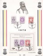 Feuillet Numéroté 1551 à 1553 Bloc 48 Belgica Nieuwpoort - Panes